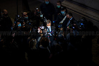 05.02.2021 - Italian Political Crisis - Mario Draghi Meets Party Delegations To Form New Government