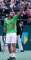 2011-02-08, Tennis, Rotterdam, ABNAMROWTT,  Jo-Wilfried Tsonga, Grigor Dimitrov