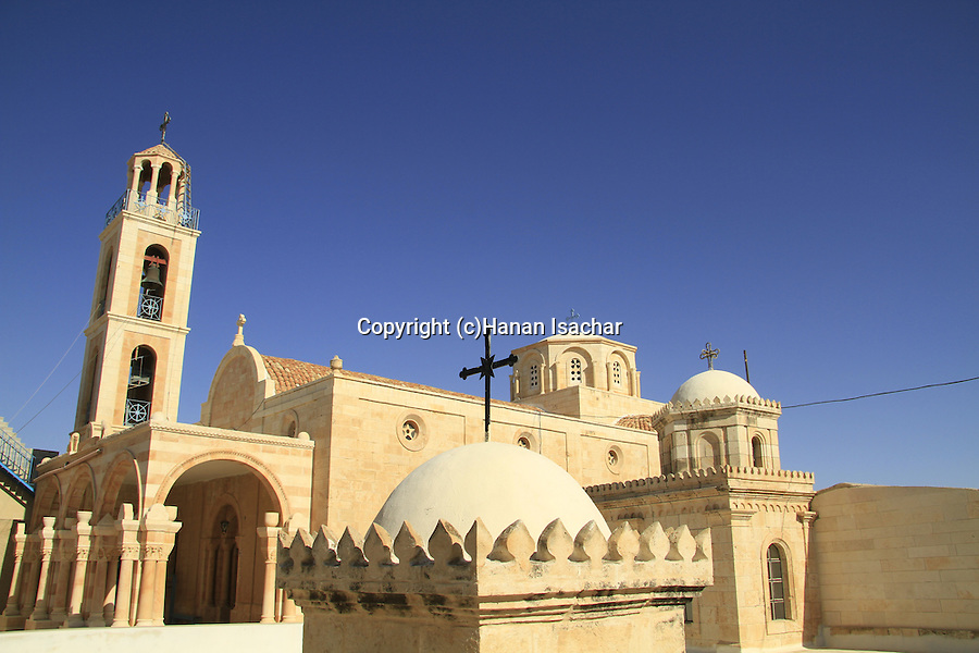 The Greek Orthodox Monastery of St. Theodosius east of Bethlehem, is on the site where the three wise men rested on their way back from visiting baby Jesus