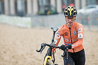 Marianne Vos (NED/Jumbo-Visma)<br /> <br /> UCI 2021 Cyclocross World Championships - Ostend, Belgium<br /> <br /> Women's Race<br /> <br /> ©kramon