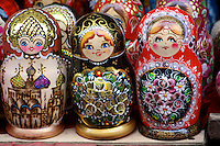 Matryoshka Dolls for sale in Moscow, Russia