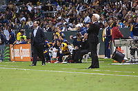 The L.A Galaxy defeated the Red Bulls of New York 2-1 during a 2nd Round playoff game at Home Depot Center stadium in Carson, California on November 3, 2011.