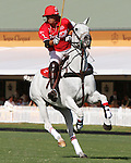 WELLINGTON, FL - FEBRUARY 12:  Gillian Johnston, MVP. Scenes from the Ylvisaker Cup during Sunday's Feature Match, Coca Cola vs Valiente II, at the International Polo Club, Palm Beach on February 12, 2017 in Wellington, Florida. (Photo by Liz Lamont/Eclipse Sportswire/Getty Images)