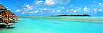 Cook Islands Panorama - Aitutaki in the Cook Islands Image taken on large format panoramic 6cm x 17cm transparency. Available for licencing and printing. email us at contact@widescenes.com for pricing.