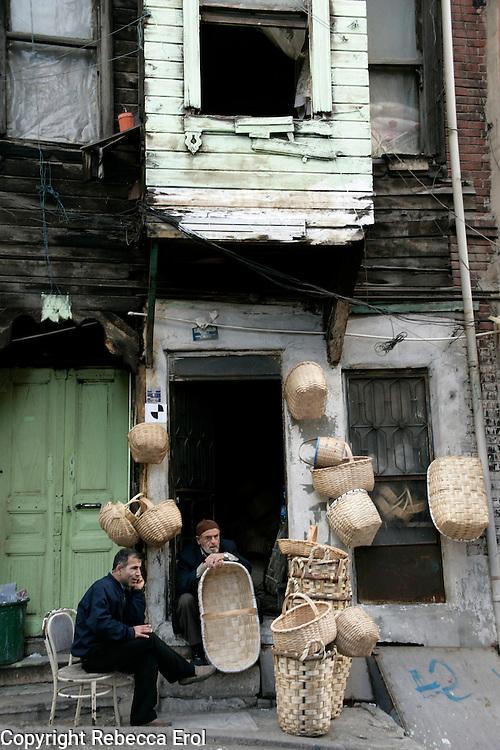 Basketmaker, Istanbul, Turkey