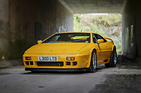 BNPS.co.uk (01202) 558833. <br /> Pic: TheMarket/BNPS<br /> <br /> Pictured: Lotus Esprit 300 Sport. <br /> <br /> A British motor enthusiast is selling his epic collection of Lotus Esprit sports cars for over £500,000.<br /> <br /> The iconic vehicles made by the British marque between 1976 to 2004 have belonged to the unnamed collector who loved the sleek design of them.