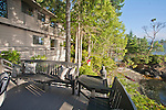 Brinnon, Washington, waterfront house on point, Hood Canal, Washington State, United States,