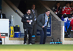 St Johnstone v St Mirren....21.03.15<br /> Tommy Wright screams at his players<br /> Picture by Graeme Hart.<br /> Copyright Perthshire Picture Agency<br /> Tel: 01738 623350  Mobile: 07990 594431