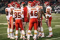 Teambesprechung Kansas City Chiefs<br /> New York Jets vs. Kansas City Chiefs<br /> *** Local Caption *** Foto ist honorarpflichtig! zzgl. gesetzl. MwSt. Auf Anfrage in hoeherer Qualitaet/Aufloesung. Belegexemplar an: Marc Schueler, Am Ziegelfalltor 4, 64625 Bensheim, Tel. +49 (0) 6251 86 96 134, www.gameday-mediaservices.de. Email: marc.schueler@gameday-mediaservices.de, Bankverbindung: Volksbank Bergstrasse, Kto.: 151297, BLZ: 50960101