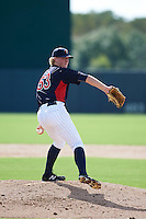 Minnesota Twins pitcher Sam Clay (53) during an instructional league game against the Boston Red Sox on September 26, 2015 at CenturyLink Sports Complex in Fort Myers, Florida.  (Mike Janes/Four Seam Images)