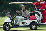 HAIKOU, CHINA - OCTOBER 29:  Hollywood actor Matthew McConaughey drives a buggy during day three of the Mission Hills Start Trophy tournament at Mission Hills Resort on October 29, 2010 in Haikou, China. The Mission Hills Star Trophy is Asia's leading leisure liflestyle event which features Hollywood celebrities and international golf stars.  Photo by Victor Fraile / The Power of Sport Images