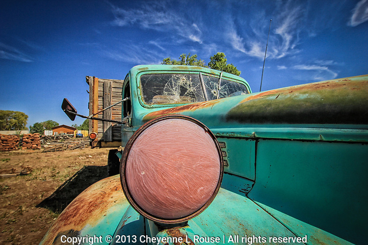 Taos Chevy Turquoise Truck - New Mexico
