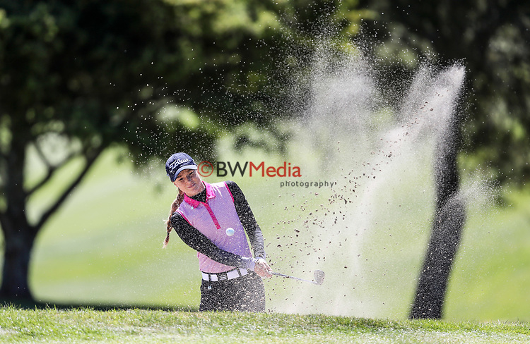 Kristalle Blum. Anita Boon Pro-am, Remuera Golf Course, Auckland, New Zealand, Monday 15th October2018. Photo: Simon Watts/www.bwmedia.co.nz