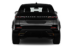 Straight rear view of a 2020 Land Rover Range Rover Evoque First Edition 5 Door SUV stock images