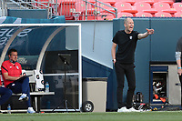 DENVER, CO - JUNE 3: USMNT head coach Gregg Berhalter during a game between Honduras and USMNT at Empower Field at Mile High on June 3, 2021 in Denver, Colorado.