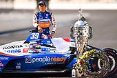 #30: Takuma Sato poses during the champions portrait session, Rahal Letterman Lanigan Racing Honda