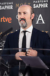 Javier Cámara during the reading of the nominates for Goya 2017 at Academia de Cine in Madrid, Spain. December 14, 2016. (ALTERPHOTOS/BorjaB.Hojas)