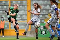 Kamila Dubcova of Sassuolo scores the goal of 1-0 during the women Serie A football match between US Sassuolo and Hellas Verona at Enzo Ricci stadium in Sassuolo (Italy), November 15th, 2020. Photo Andrea Staccioli / Insidefoto