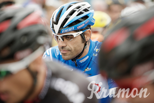 Danilo Napolitano (ITA/Wanty-Groupe Gobert) focused at the start<br /> <br /> stage 5: Eindhoven - Boxtel (183km)<br /> 29th Ster ZLM Tour 2015