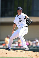 March 21st 2008:  Zach Miner of the Detroit Tigers during Spring Training at Joker Marchant Stadium in Lakeland, FL.  Photo by:  Mike Janes/Four Seam Images