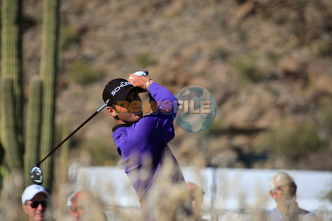 Martin Kaymer (GER) in action on the 17th hole during Day 2 of the Accenture Match Play Championship from The Ritz-Carlton Golf Club, Dove Mountain, Thursday 24th February 2011. (Photo Eoin Clarke/golffile.ie)
