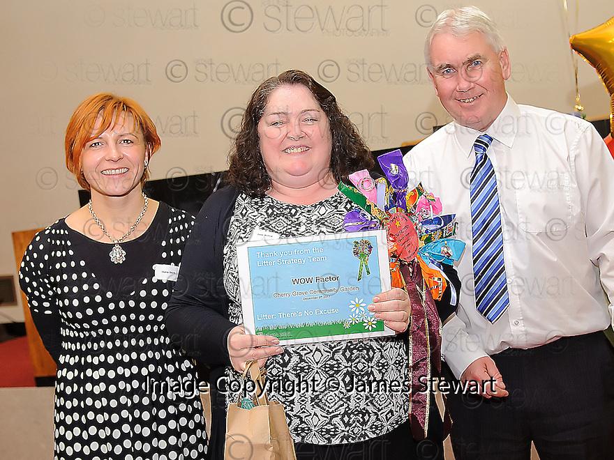Litter Strategy Awards 2012. WOW Factor, Cherry Grove Community Garden.