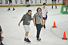 during the open skate and open mic night at the Compton Family Ice Arena Saturday June 30, 2018. (Notre Dame Photo/Joe Raymond)