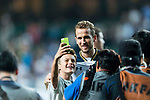 Tottenham Hotspur striker Harry Kane poses for selfies with fans during the Friendly match between Kitchee SC and Tottenham Hotspur FC at Hong Kong Stadium on May 26, 2017 in So Kon Po, Hong Kong. Photo by Man yuen Li  / Power Sport Images