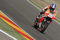 Aragon (Spagna) 27/09/2014 - qualifiche Moto GP - foto Luca Gambuti/Image Sport/Insidefoto<br /> nella foto: Dani Pedrosa