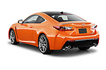 Car pictures of rear three quarter view of2015 Lexus RC F 2 Door Coupe Angular Rear