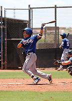 Heribert Hernandez - Texas Rangers 2019 extended spring training (Bill Mitchell)