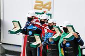 #10 Konica Minolta Acura ARX-05 Acura DPi, DPi: Helio Castroneves, Alexander Rossi, Filipe Albuquerque, Ricky Taylor<br /> winner, victory lane