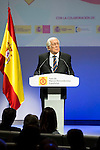 """Carlos Espinosa de los Monteros during the 6th edition of the collecting badges to the new ambassadors fees """"Marca España"""" in his 6th edition at BBVA City in Madrid, November 12, 2015.<br /> (ALTERPHOTOS/BorjaB.Hojas)"""