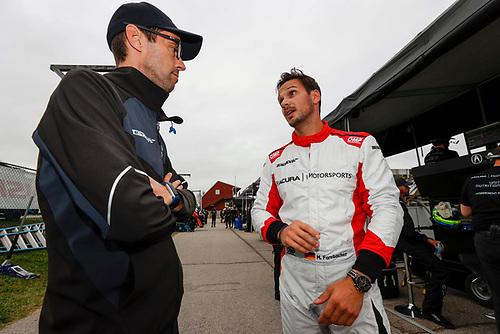 #66: Gradient Racing Acura NSX GT3, GTD:  Mario Farnbacher, Lee Niffenegger