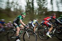 48th Amstel Gold Race 2013..Vincent Jerome (FRA) up the