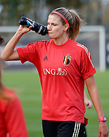 20201021 - TUBIZE , Belgium : Justine Vanhaevermaet pictured during a training session of the Belgian Women's National Team, Red Flames , on the 21st of October 2020 at Proximus Basecamp in Tubize. PHOTO: SPORTPIX.BE | SPP | SEVIL OKTEM