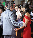 Ashley Greene & Michael Sheen at The Summit Entertainment's World Premiere of THE TWILIGHT SAGA: NEW MOON held at The Mann's Village Theatre in Westwood, California on November 16,2009                                                                   Copyright 2009 DVS / RockinExposures