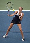 August  16, 2017:  Karolina Pliskova (CZE) defeated Natalie Vikhlyantseva (RUS) 6-2 in the first set at the Western & Southern Open being played at Lindner Family Tennis Center in Mason, Ohio. ©Leslie Billman/Tennisclix/CSM