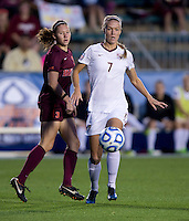 Dagny Brynjarsdottir. Florida State defeated Virginia Tech, 3-2,  at the NCAA Women's College Cup semifinals at WakeMed Soccer Park in Cary, NC.