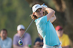 Tommy Fleetwood of England plays an approach shot during the 58th UBS Hong Kong Golf Open as part of the European Tour on 10 December 2016, at the Hong Kong Golf Club, Fanling, Hong Kong, China. Photo by Marcio Rodrigo Machado / Power Sport Images