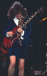 ACDC DEC 1983 Angus Young