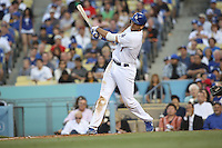 05/20/12 Los Angeles, CA: Los Angeles Dodgers first baseman James Loney #7 during an MLB game between the St Louis Cardinals and the Los Angeles Dodgers played at Dodger Stadium. The Dodgers defeated the Cardinals 6-5.