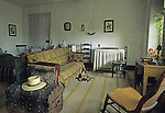Interior of a typical worker's apartment of the 1850's, Harpers Ferry National Historical Park, West Virginia, USA