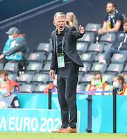 Scotland v Czech Republic UEFA EURO, EM, Europameisterschaft,Fussball 2020 Czech Republic Manager Jaroslav Silhavy during the UEFA Euro 2020 Group D match at Hampden Park, Glasgow PUBLICATIONxNOTxINxUKxCHN Copyright: xPaulxChestertonx FIL-15602-0096 <br /> <br /> Photo Imago/Insidefoto<br /> ITALY ONLY