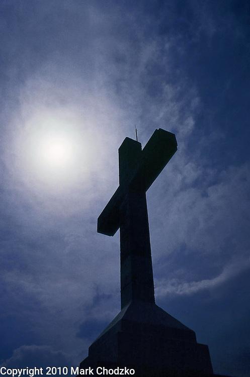 Cross on Cross Mountain in Medjugorje, Bosnia