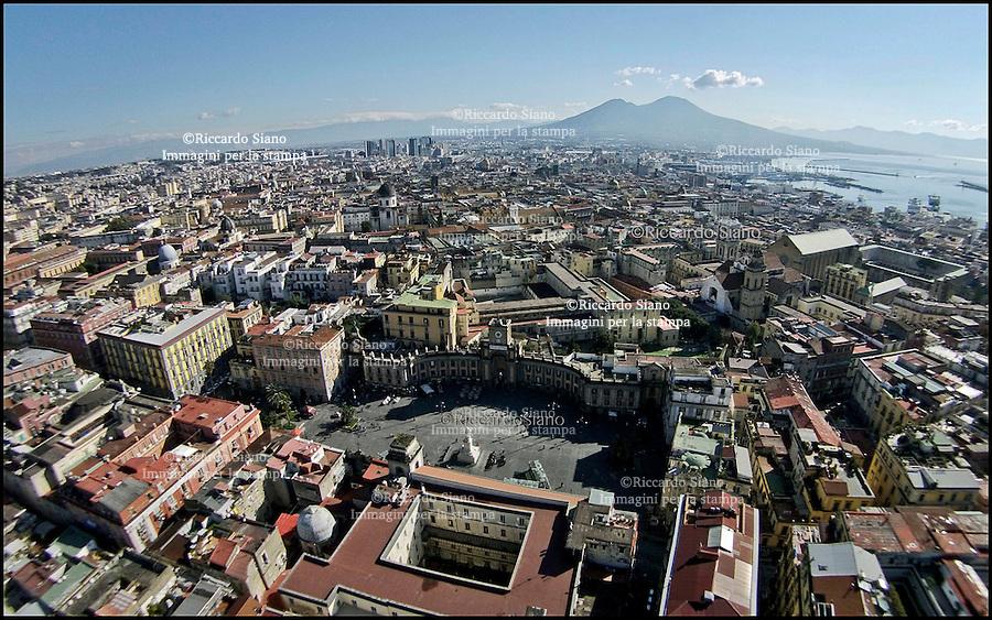 - NAPOLI 24  FEB  2014 -  panoramiche piazza dante