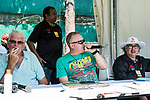 Guests enjoy in the boxes during Day 2 of Hong Kong Cricket World Sixes 2017 at Kowloon Cricket Club on 29 October 2017, in Hong Kong, China. Photo by Yu Chun Christopher Wong / Power Sport Images