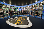 SHANGHAI, CHINA - OCTOBER 10:  Visitors enjoy photo gallery in the village of the Qi Zhong tennis center in Shanghai. The 2009 Shanghai ATP Masters 1000 will be held from 10th to 18th October at the Qi Zhong tennis center. Photo by Victor Fraile / The Power of Sport Images