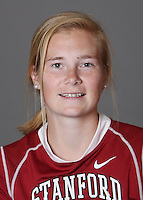STANFORD, CA - OCTOBER 29:  Sarah Flynn of the Stanford Cardinal women's lacrosse team poses for a headshot on October 29, 2009 in Stanford, California.