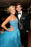 Duchess Hanna Mecom and Chris Nash at a private party aboard the Fertitta's yacht before the San Luis Salute in Galveston Friday  Feb. 08, 2013.(Dave Rossman/ For the Chronicle)